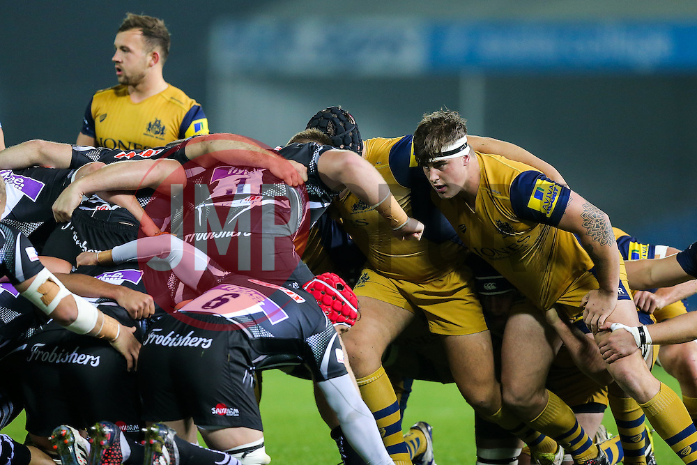 Ollie Dawe of Bristol United - Rogan Thomson/JMP - 24/10/2016 - RUGBY UNION - Sandy Park - Exeter, England - Exeter Braves v Bristol United - Reserve Team Friendly.