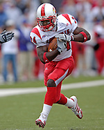 Louisville running back George Stripling in action against Kansas State at Bill Snyder Family Stadium in Manhattan, Kansas, September 23, 2006.  The 8th ranked Louisville Cardinals beat K-State 24-6.