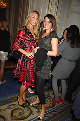 Left to right, STEPHANIE COATEN and KATHERINE ACLAND at a party to celebrate the launch of The Essential Party Guide held at the Mandarin Oriental Hyde Park, 66 Knightsbridge, London on 27th March 2007.<br />