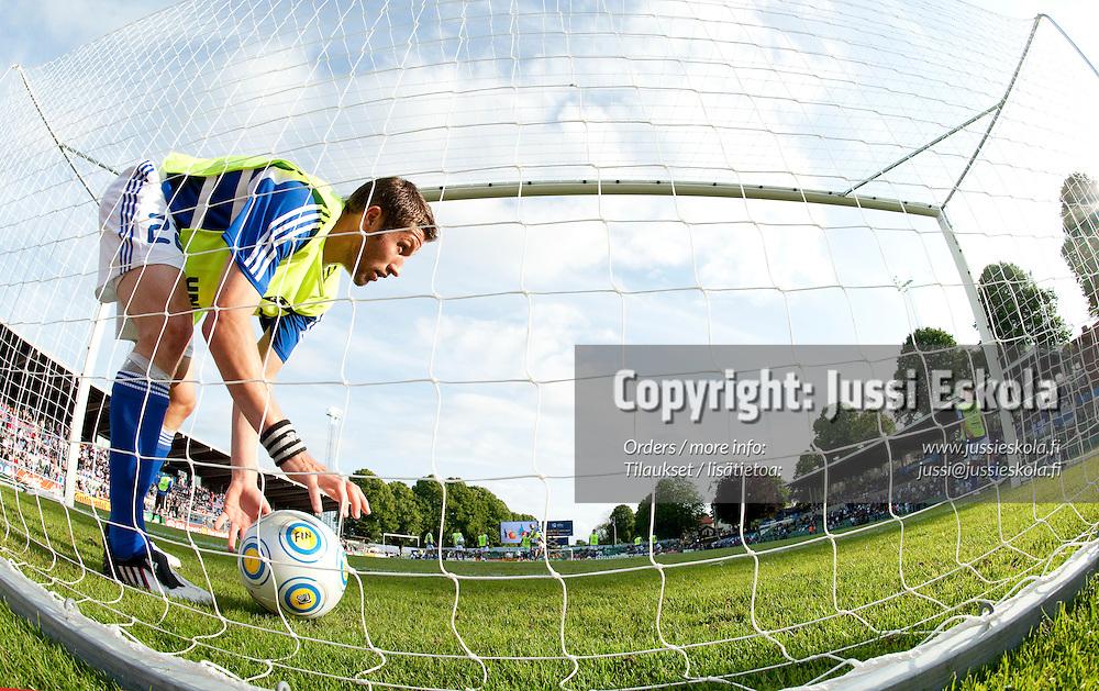 Joona Toivio. Saksa - Suomi. Alle 21-vuotiaiden EM-turnaus. Halmstad, Ruotsi 18.6.2009. Photo: Jussi Eskola