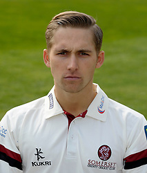 Somerset's James Regan - Photo mandatory by-line: Harry Trump/JMP - Mobile: 07966 386802 - 17/03/15 - SPORT - Cricket - Somerset Press Call - The County Ground, Taunton, England.
