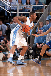CHAPEL HILL, NC - MARCH 05: Leslie McDonald #2 of the North Carolina Tar Heels dribbles the ball while playing the Duke Blue Devils on March 05, 2011 at the Dean E. Smith Center in Chapel Hill, North Carolina. North Carolina won 67-81. (Photo by Peyton Williams/UNC/Getty Images) *** Local Caption *** Leslie McDonald