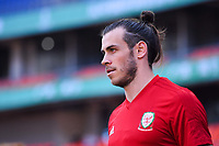 Gareth Bale of Wales national football team takes part in a training session before the semi-final match against China during the 2018 Gree China Cup International Football Championship in Nanning city, south China's Guangxi Zhuang Autonomous Region, 20 March 2018.