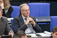 14 FEB 2019, BERLIN/GERMANY:<br /> Dr. Roland Hartwig, MdB, AfD, Bundestagsdebatte, Plenum, Deutscher Bundestag<br /> IMAGE: 20190214-01-034<br /> KEYWORDS: Bundestag, Debatte