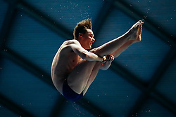 William Hallen from City of Leeds Diving Club competes in the Mens 3m Springboard - Mandatory byline: Rogan Thomson/JMP - 11/06/2016 - DIVING - Ponds Forge - Sheffield, England - British Diving Championships 2016 Day 2.
