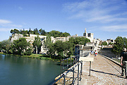 Old town of Avignon, France