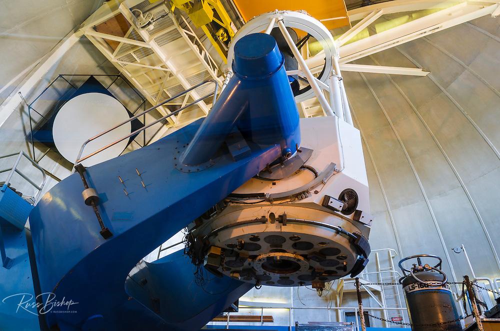 The 2.1 meter telescope at Kit Peak National Observatory, Tohono O'odham Indian Reservation, Arizona USA