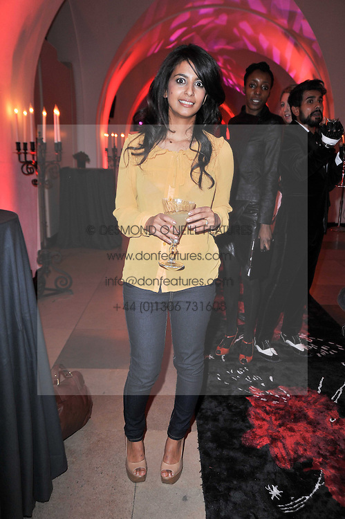 KONNIE HUQ at a fashion show & party to celebrate the launch of the Vanessa G label held at the Banqueting Hall, Whitehall, London on 23rd March 2011.