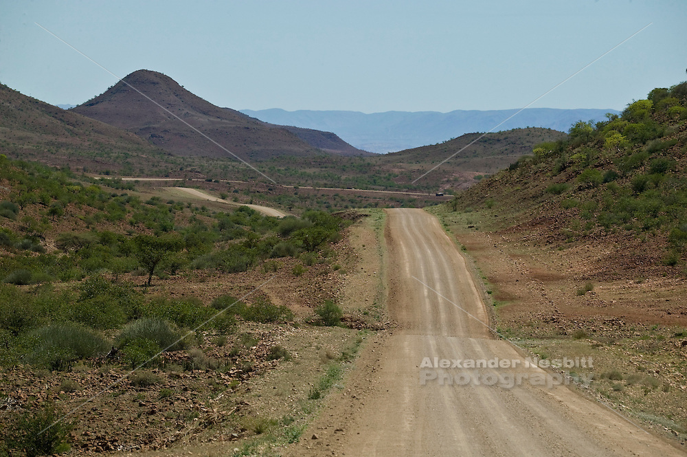 Africa, Namibia - Palmwag to Sesfontein road