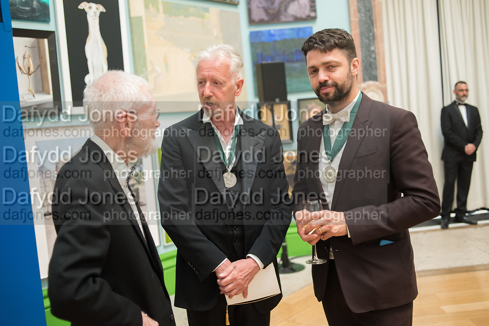 DAVID MACH, CONRAD SHAWCROSS, 2019 Royal Academy Annual dinner, Piccadilly, London.  3 June 2019