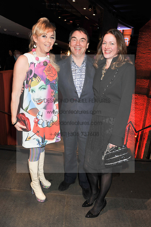 Left to right, COUNTESS DORA DELLA GHERARDESCA, ALAN PARKER Chairman of Save the Children UK and his wife JANE at A Night of Funk & Soul in aid of Save The Children held at The Roundhouse, Camden, London on 20th March 2013.