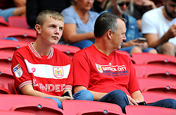 Bristol City fans - Mandatory by-line: Nizaam Jones/JMP- 18/08/2018 - FOOTBALL - Ashton Gate Stadium - Bristol, England - Bristol City v Middlesbrough - Sky Bet Championship