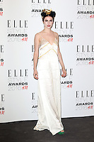 Tali Lennox, ELLE Style Awards 2016, Millbank London UK, 23 February 2016, Photo by Richard Goldschmidt