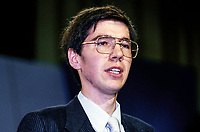 Andrew Patterson, youngest heart transplant patient, speaking at Annual Conference, UK Conservative Party, in Brighton. 198010000316.  <br /> <br /> Copyright Image from Victor Patterson, Belfast, UK<br /> <br /> t: +44 28 9066 1296 (from Rep of Ireland 048 9066 1296)<br /> m: +44 7802 353836<br /> <br /> victorpattersonbelfast@gmail.com<br /> www.victorpatterson.com<br /> <br /> Please see my Terms and Conditions of Use at https://www.victorpatterson.com/page2<br /> It is IMPORTANT that you familiarise yourself with them.<br /> <br /> Images used online incur an additional cost and must be visibly watermarked i.e. © Victor Patterson within the body of the image and copyright metadata must not be deleted. Images used on the Internet have a size restriction of 4kbs and are chargeable at rates available at victorpatterson.com.<br /> <br /> This image is only available for the use of the download recipient i.e. television station, newspaper, magazine, book publisher, etc, and must not be passed on to any third party. It is also downloaded on condition that each and every subsequent usage is notified within 7 days to victorpattersonbelfast@gmail.com<br /> <br /> The right of Victor Patterson to be identified as the author is asserted in accordance with The Copyright Designs And Patents Act (1988). All moral rights are asserted.