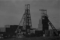 Barnburgh Colliery, British Coal, South Yorkshire Area . 09-02-1989
