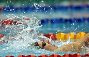 Cameron Gibson (NZL) swims in the Men's 200m Backstroke Heat at the 2006 Commonwealth Games at the Sports and Aquatic Centre, Melbourne, Australia on 18 March, 2006. Photo: Sport the Library / www.photosport.nz