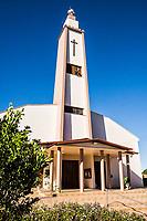 Igreja Matriz. Descanso, Santa Catarina, Brasil. / <br /> Mother Church. Descanso, Santa Catarina, Brazil.
