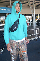 AU_1312408 - ** RIGHTS: WORLDWIDE EXCEPT IN AUSTRALIA, FRANCE, FRENCH POYNESIA, GERMANY, IRELAND, NEW ZEALAND, PORTUGAL, SPAIN, UNITED KINGDOM ** Sydney, AUSTRALIA  -  *EXCLUSIVE*  - Set ID: 118325<br /> EXCLUSIVE Australian NBA star and Kendall Jenner boyfriend Ben Simmons arrives in Sydney<br /> <br /> Pictured: Ben Simmons<br /> <br /> BACKGRID Australia 15 AUGUST 2018 <br /> <br /> BYLINE MUST READ: DIIMEX / BACKGRID<br /> <br /> Phone: + 61 2 8719 0598<br /> Email:  photos@backgrid.com.au