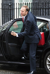 Downing Street,  London, June 27th 2015. Paymaster General Matt Hancock arrives for the first post-Brexit cabinet meeting at 10 Downing Street