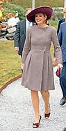 TILBURG - Koningin Máxima bezoekt de bijeenkomst over Social Innovation bij Tilburg University. COPYRIGHT ROBIN UTRECHT