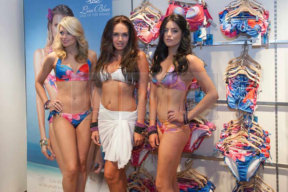 © licensed to London News Pictures. London, UK 21/06/2012. Tamara Ecclestone (centre) posing with Lisa Blue models to promote the official launch of Lisa Blue Charity Whale Tale Charm Bracelet, which will be sold at The Kings Road Sporting Club in Sloane Square, London. Photo credit: Tolga Akmen/LNP