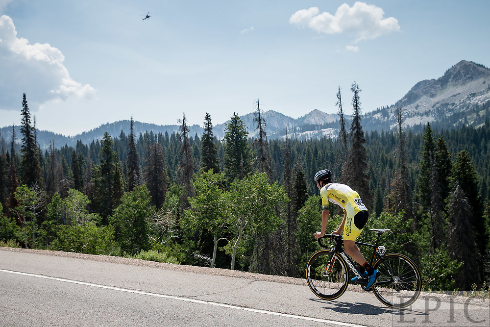 Cycling: Larry H. Miller Tour of Utah 2017 / Stage 3 - Sepp Kuss (Rally), 17th.<br /> <br /> Big Cottonwood Canyon (9km) / TOU / ITT / Individual Time Trial / Utah  <br /> &copy; Jonathan Devich