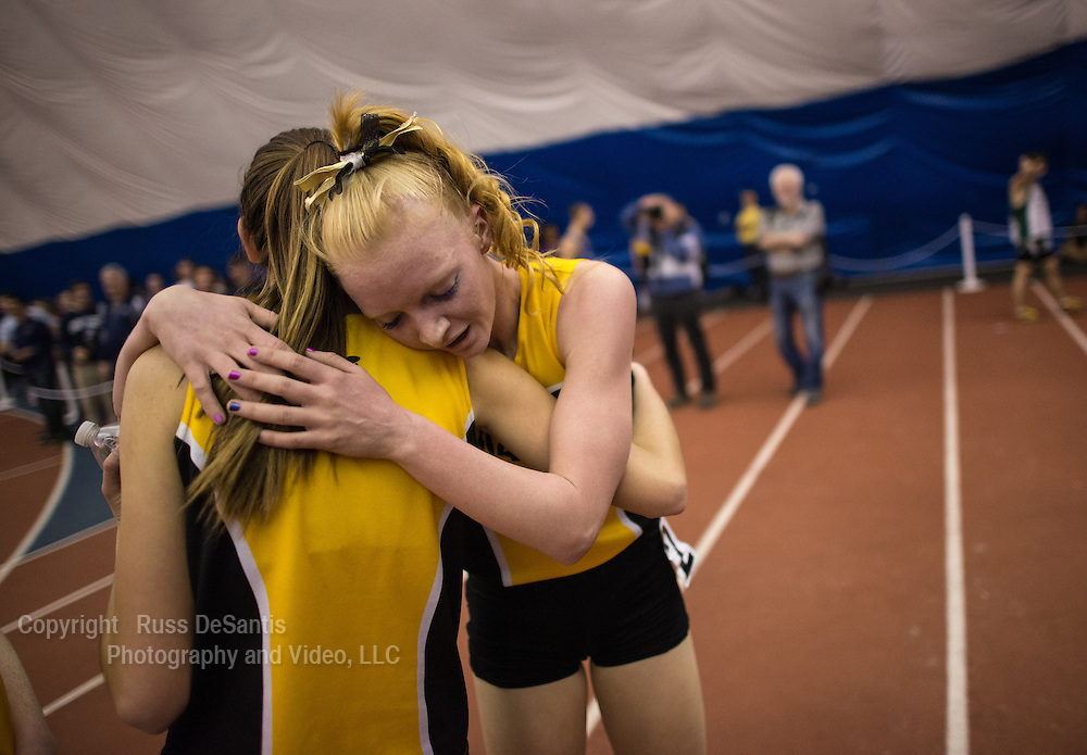 The NJSIAA Non Public A and B track and field Championships were held at The Bennett Center in Toms River. Tara Connelly of St. John Vianney won the 1600 A race. / Photo by Russ DeSantis Photography and Video, LLC