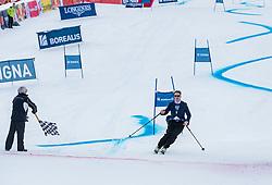 20.01.2018, Hahnenkamm, Kitzbühel, AUT, FIS Weltcup Ski Alpin, Kitzbuehel, Kitz Charity Trophy, im Bild v.l.: Bernie Ecclestone, Tobias Moretti // f.l.: Bernie Ecclestone Tobias Moretti during the Kitz Charity Trophy of the FIS Ski Alpine World Cup at the Hahnenkamm in Kitzbühel, Austria on 2018/01/20. EXPA Pictures © 2018, PhotoCredit: EXPA/ Stefan Adelsberger