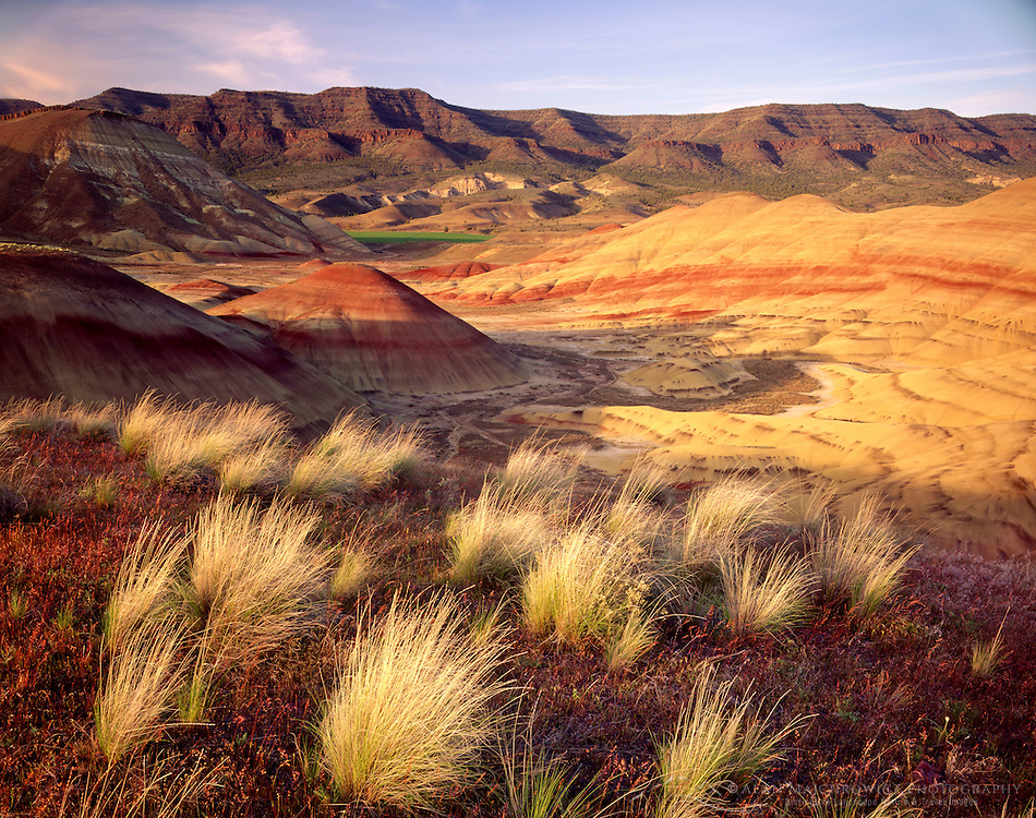 Painted Hills John Day Fossil Beds National Monument Oregon USA