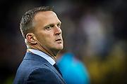 LYON - 23-02-2017, Olympique Lyon - AZ, Parc Olympique Lyonnais Stadion, 7-1, AZ trainer John van den Brom