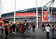 A general view of Principality Stadium, home of Wales<br /> <br /> Photographer Simon King/Replay Images<br /> <br /> Under Armour Series - Wales v South Africa - Saturday 24th November 2018 - Principality Stadium - Cardiff<br /> <br /> World Copyright &copy; Replay Images . All rights reserved. info@replayimages.co.uk - http://replayimages.co.uk