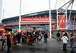 A general view of Principality Stadium, home of Wales<br /> <br /> Photographer Simon King/Replay Images<br /> <br /> Under Armour Series - Wales v South Africa - Saturday 24th November 2018 - Principality Stadium - Cardiff<br /> <br /> World Copyright © Replay Images . All rights reserved. info@replayimages.co.uk - http://replayimages.co.uk