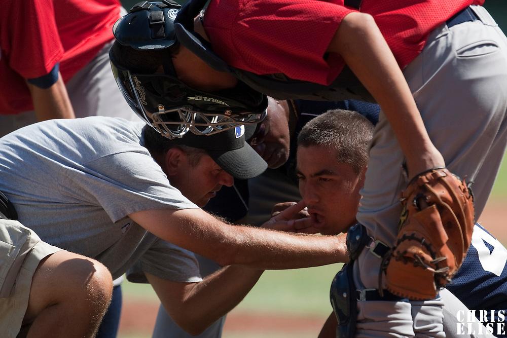 Baseball - MLB European Academy - Tirrenia (Italy) - 20/08/2009 - Ulf Eisenhuth (Spain)