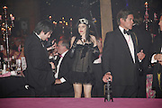 Alexia Queen, The Blush Ball, Natural History Museum, London<br />Breast Cancer Haven trust charity evening for the construction of a third Haven in North England. ONE TIME USE ONLY - DO NOT ARCHIVE  © Copyright Photograph by Dafydd Jones 66 Stockwell Park Rd. London SW9 0DA Tel 020 7733 0108 www.dafjones.com