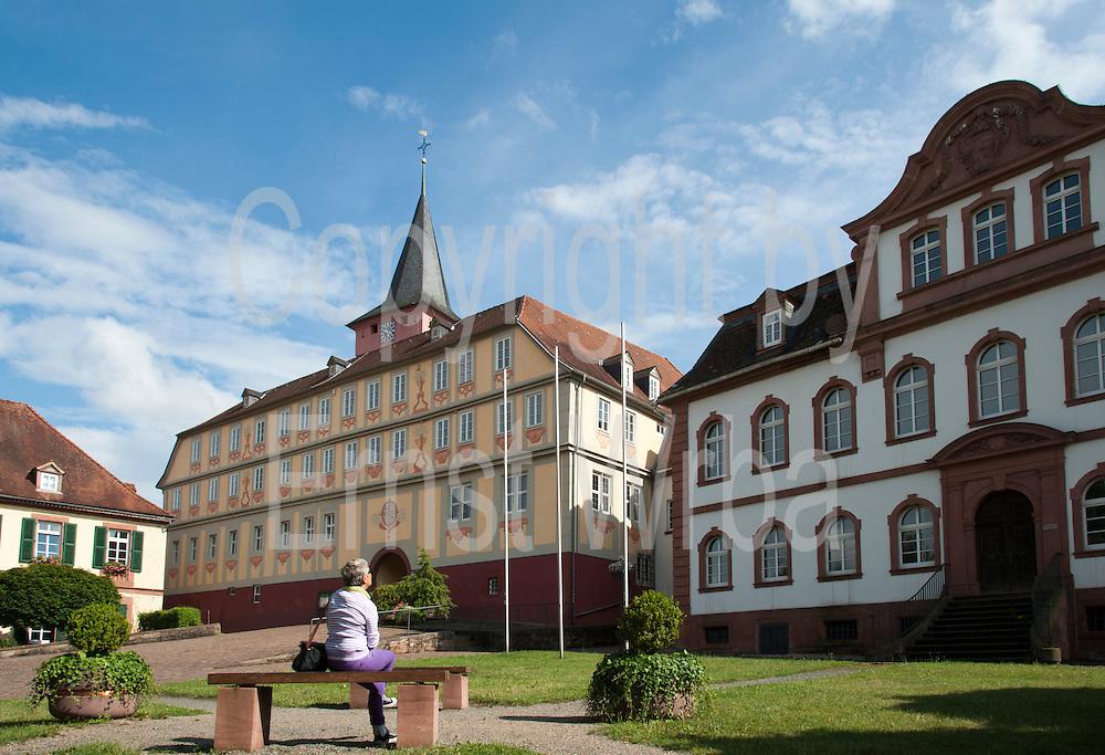 Altes Schloss und Neues Schloss, Bad König, Odenwald, Naturpark Bergstraße-Odenwald, Hessen, Deutschland | Old Castle and New Castle, Bad König, Odenwald, Bergstraße-Odenwald, Hesse, Germany