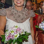 NLD/Amsterdam/20150914 -Jubileumvoorstelling Paul van Vliet 80 Jaar, Prinses Laurentien