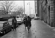 Bernadette Devlin MP at Four Courts.17/11/1971