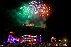 Virgin Money Fireworks | Edinburgh | 29 August 2016