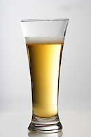 Glass of beer - studio shot