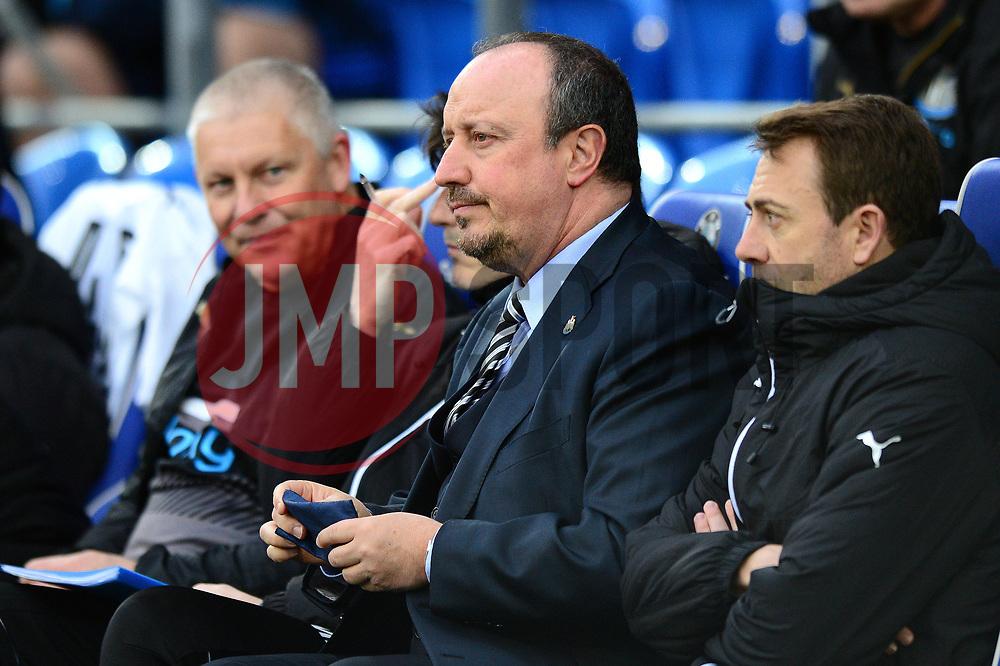 Newcastle United manager Rafa Benitez - Mandatory by-line: Dougie Allward/JMP - 28/04/2017 -  FOOTBALL - Cardiff City Stadium - Cardiff, Wales -  Cardiff City v Newcastle United - Sky Bet Championship