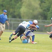East Carteret played Pender High School in the opening game of The Pender County Jamboree Saturday August 16, 2014 at Trask High School. (Jason A. Frizzelle)