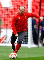 27-05-2011 VOETBAL: CHAMPIONS LEAGUE FINAL FC BARCELONA - MANCHESTER UNITED: LONDON<br /> Wayne Rooney during the official training<br /> ***NETHERLANDS ONLY***<br /> ©2011- FotoHoogendoorn.nl/nph/Mitchell Gunn