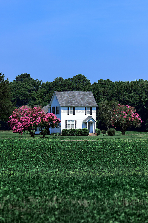 Country house, Northampton County, Virginia, USA