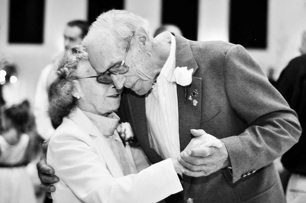 Abby's grandparents are honored with a solo dance after 55 years of marriage; White House Baquet Hall, Richland Center, WI