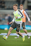 Matt Ritchie (Newcastle United) before the EFL Cup 4th round match between Newcastle United and Preston North End at St. James's Park, Newcastle, England on 25 October 2016. Photo by Mark P Doherty.