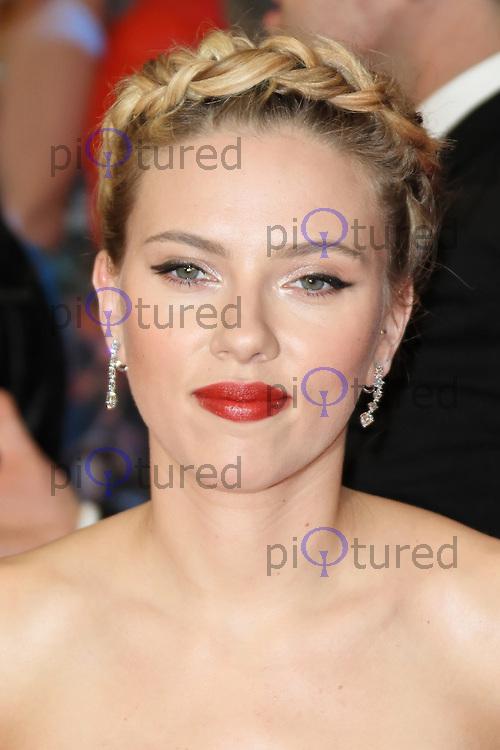 LONDON - APRIL 19: Scarlett Johansson attends the European Film Premiere of 'Avengers Assemble' at the Westfield Shopping Centre, White City, London, UK. April 19, 2012. (Photo by Richard Goldschmidt)