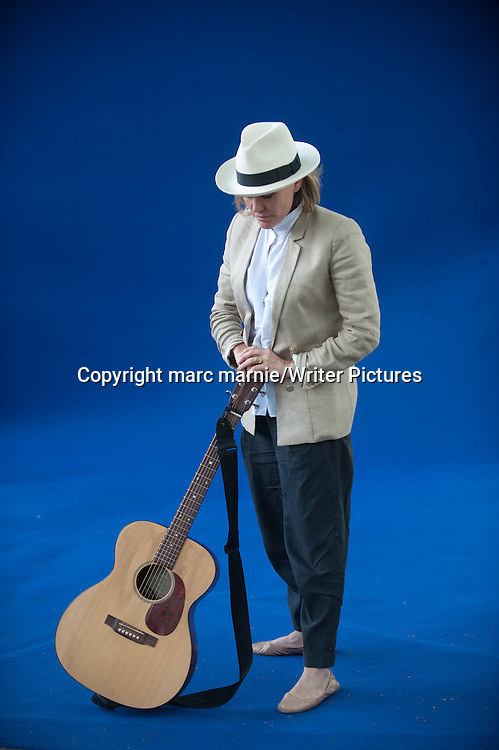 Cerys Matthews at Edinburgh International Book Festival 2013<br /> 13th August 2013<br /> <br /> Picture by marc marnie/Writer Pictures<br /> <br /> WORLD RIGHTS