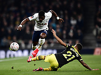 Football - 2019 / 2020 Emirates FA Cup - Fourth Round, Replay: Tottenham Hotspur vs. Southampton<br /> <br /> Tottenham Hotspur's Serge Aurier battles for possession with Southampton's Ryan Bertrand, at The Tottenham Hotspur Stadium.<br /> <br /> COLORSPORT/ASHLEY WESTERN