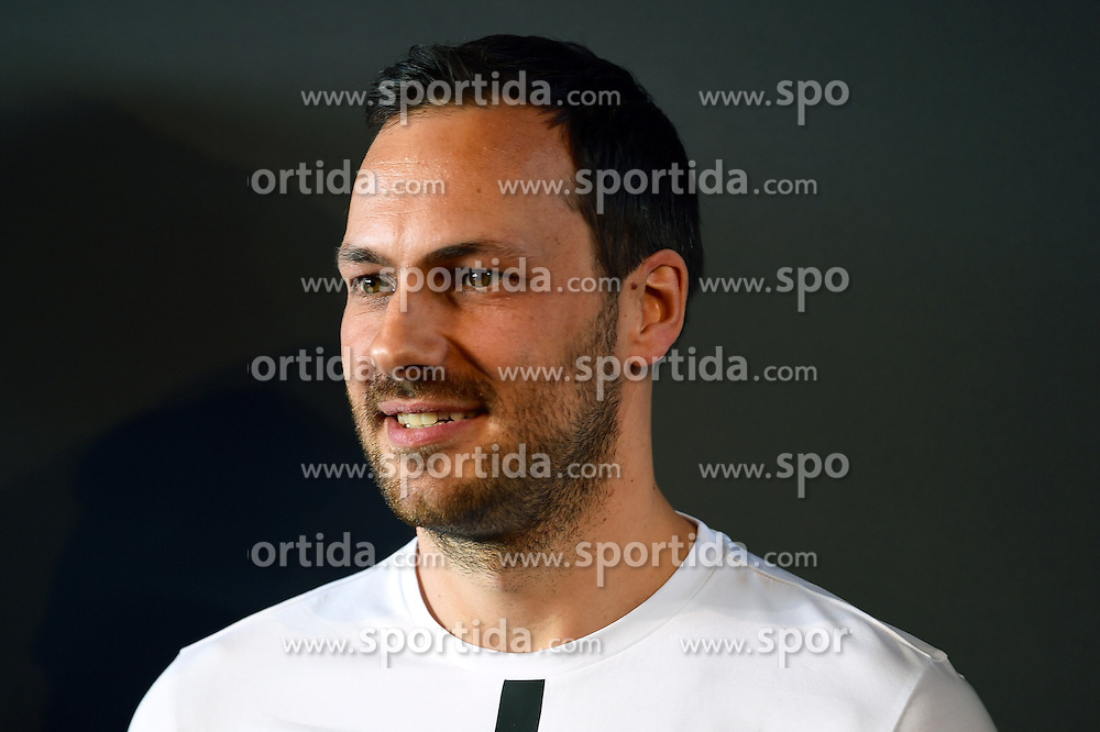12.03.2016, Mercedes, Stuttgart, GER, FIA, Formel 1, Mercedes Motorsport Kickoff 2016, im Bild Gary Paffett (GBR) // during the Mercedes Motorsport Kickoff 2016 at the Mercedes in Stuttgart, Germany on 2016/03/12. EXPA Pictures &copy; 2016, PhotoCredit: EXPA/ Sutton Images/ Andre/<br /> <br /> *****ATTENTION - for AUT, SLO, CRO, SRB, BIH, MAZ only*****