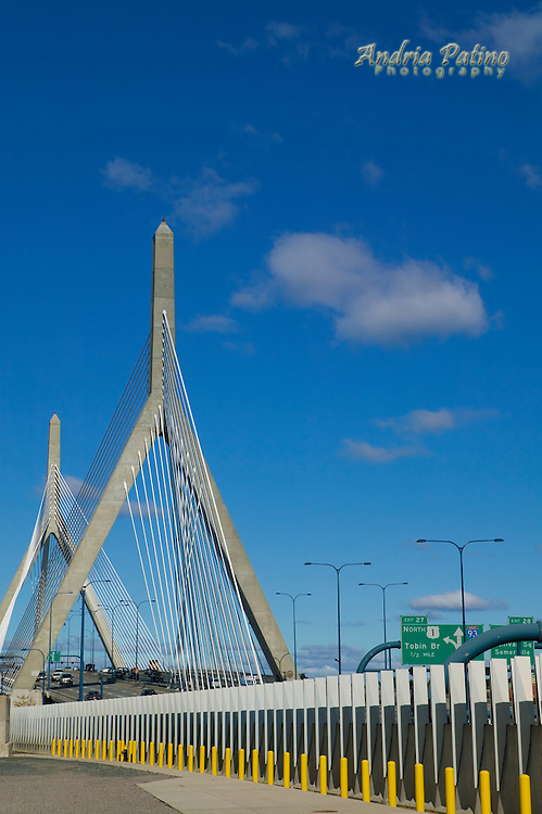 Leonard Zakim Suspension Bridge, Boston